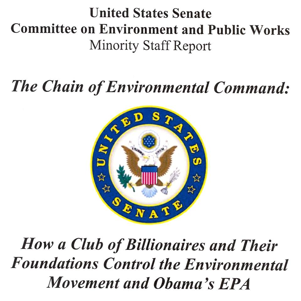 Senate Chain of Command report cover