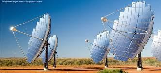 concentrated PV array
