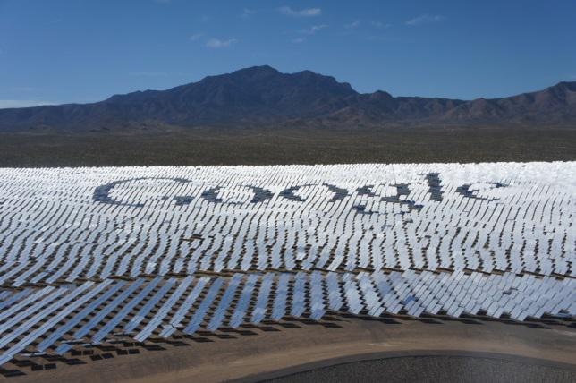 google at ivanpah