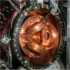 A prototype of the UW's current fusion experiment.
